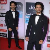 Sushant SIngh Rajpoot at the HT MOST STYLISH AWARDS 2017