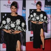Tanisha Mukherjee at the HT MOST STYLISH AWARDS 2017