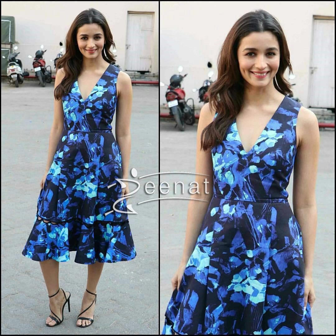 Alia Bhatt promoting Badrinath ki Dulhania | Zeenat Style