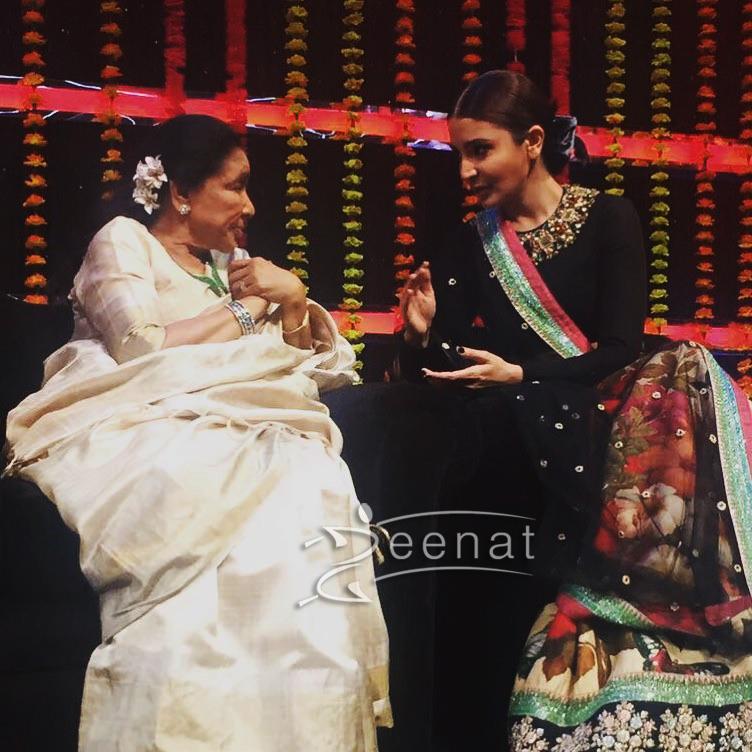 Anushka Sharma in Sabyasachi Mukherjee Lehenga Choli