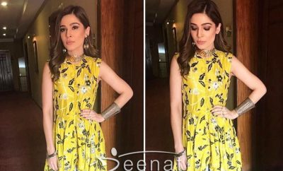 Ayesha Omar in GenerationPK as a host of PSL Final