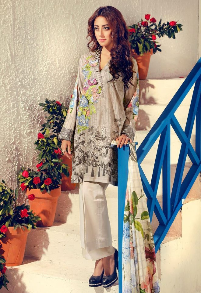 Cross Stitch Summer Lawn Collection 2017 Ainy Jaffri (20)