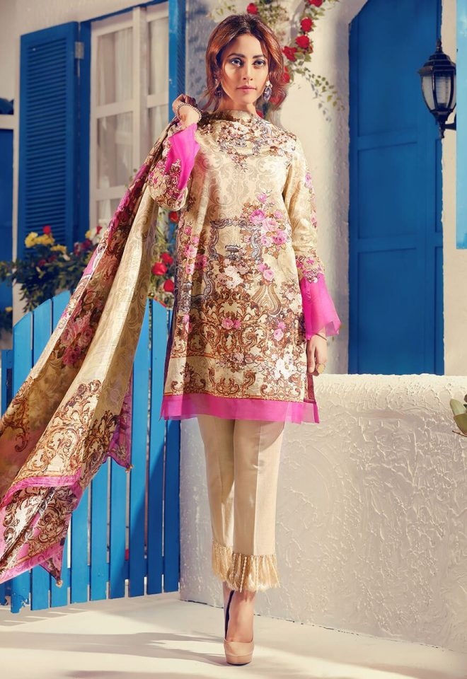 Cross Stitch Summer Lawn Collection 2017 Ainy Jaffri (22)