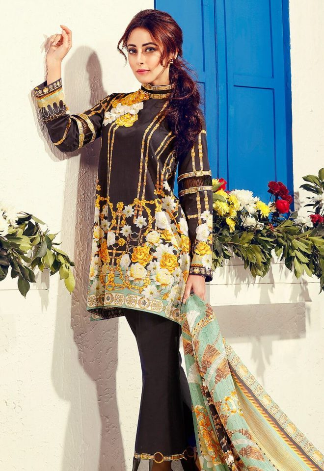 Cross Stitch Summer Lawn Collection 2017 Ainy Jaffri (43)