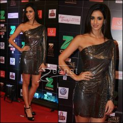 Disha Patani in Monisha Jaising Dress at Zee CIne Awards 2017