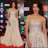 Gauhar Khan in Rony El Areif Couture at Zee Cine Awards