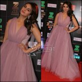 Huma Qureshi in Monsoori Official Dress at Zee Cine Awards 2017