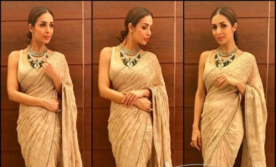 Malaika Arora Khan in Rabani and Rakha Saree