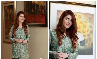 Momina Mustehsan in Saira Shakira's Luxury Formal Dress