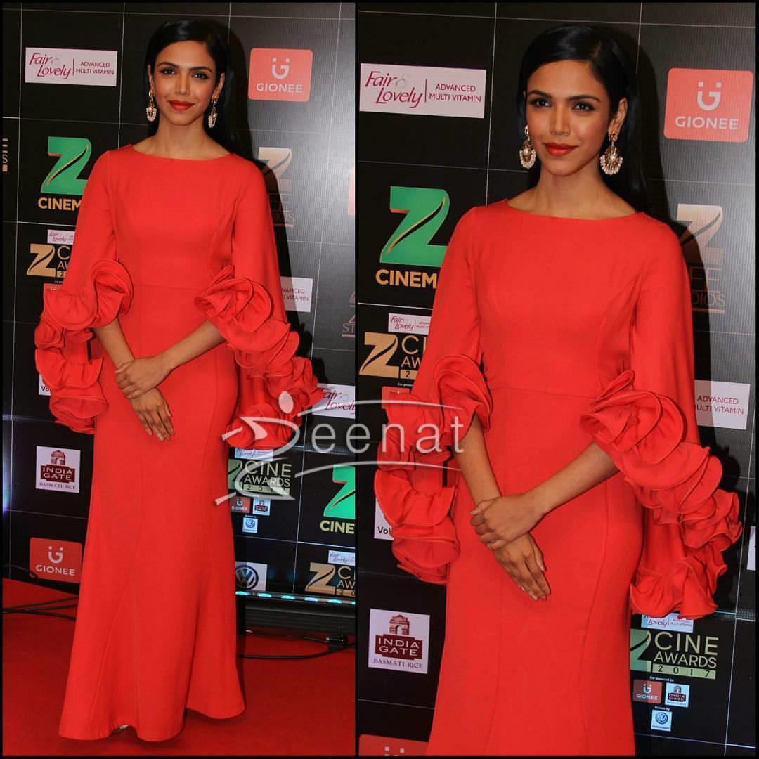 Shriya Pilgaonkar in Suneet at ZeeCine Awards 2017