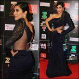 Sophie Chaudhary in Gaurav Gupta Gown Zee Cine Awards 2017