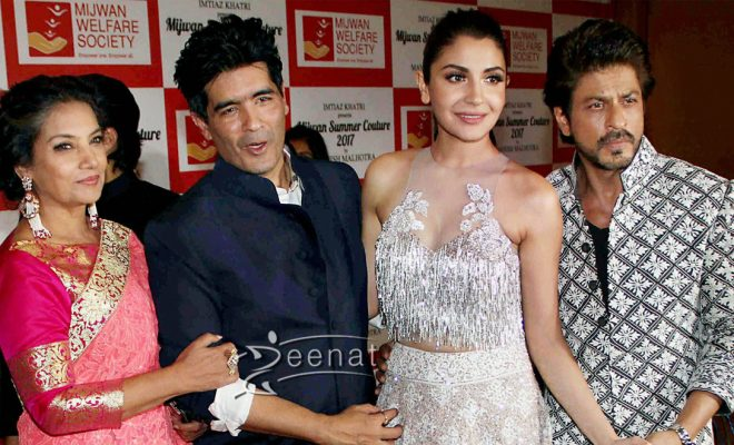 Bollywood Celebrities at Manish Malhotra Mijwan Summer 2017 Couture Show