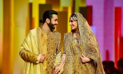 Mehwish Hayat and Danish Taimoor in Fahad Hussayn at Qhbcw17