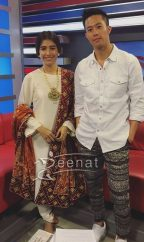 Syra Shehroz in Yasmin Jiwa with Kent S.Leung Chalay Thay Saath Promotions