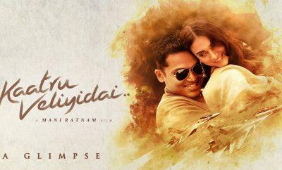 Aditi Rao Hydari Kaatru Veliyidai Promotions