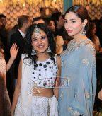 Mahira Khan in Icy Blue Saree by Elan