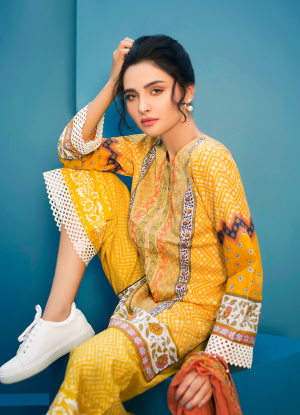 Arisha Chowdary Summer Lawn Collection 2018 (18)
