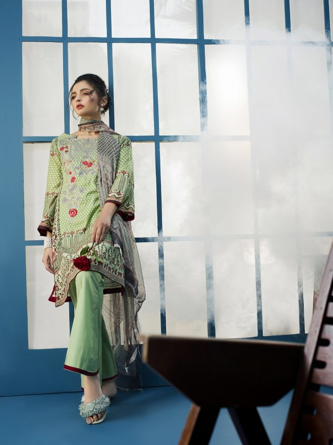 Arisha Chowdary Summer Lawn Collection 2018 (2)