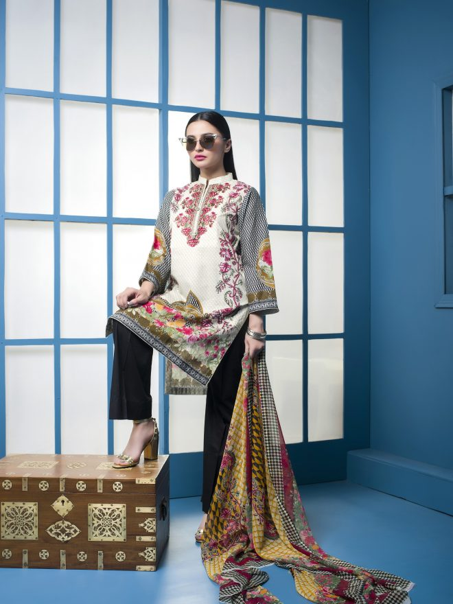 Arisha Chowdary Summer Lawn Collection 2018 (31)
