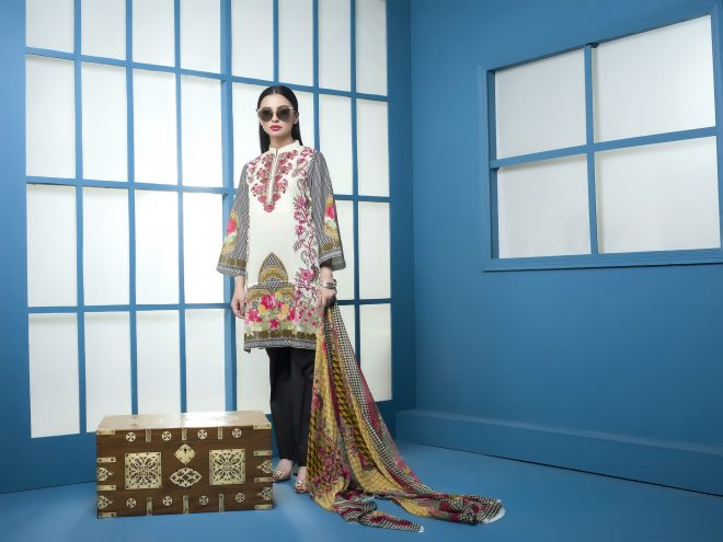 Arisha Chowdary Summer Lawn Collection 2018 (32)
