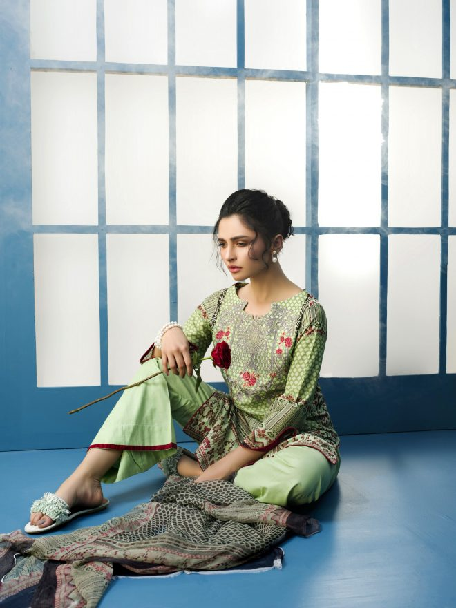 Arisha Chowdary Summer Lawn Collection 2018 (4)