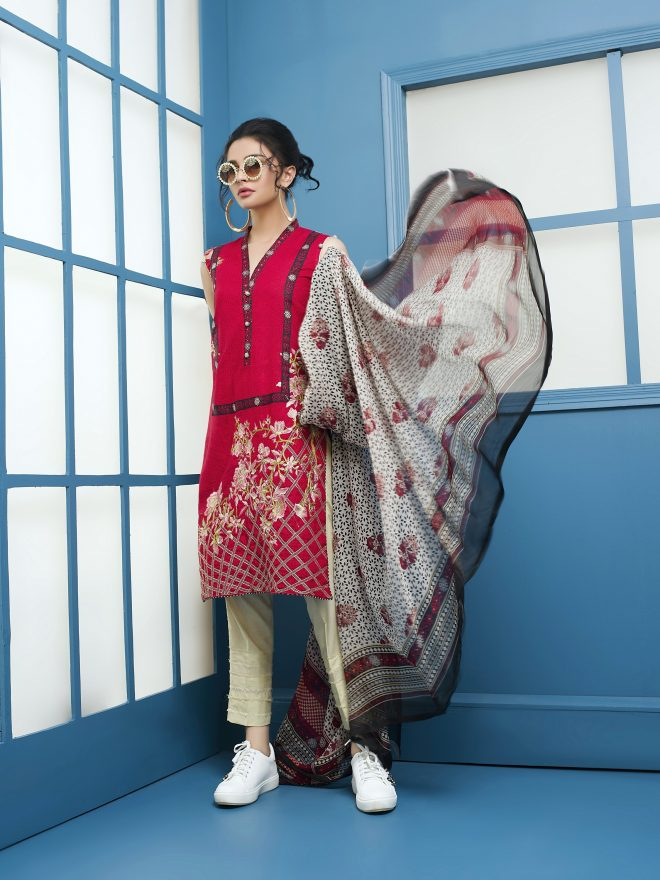 Arisha Chowdary Summer Lawn Collection 2018 (9)