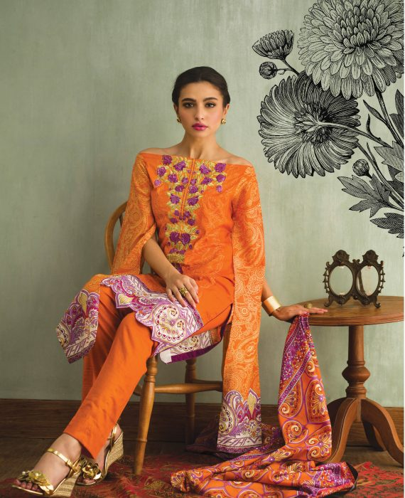 Libas Mid Summer Lawn Collection 2018