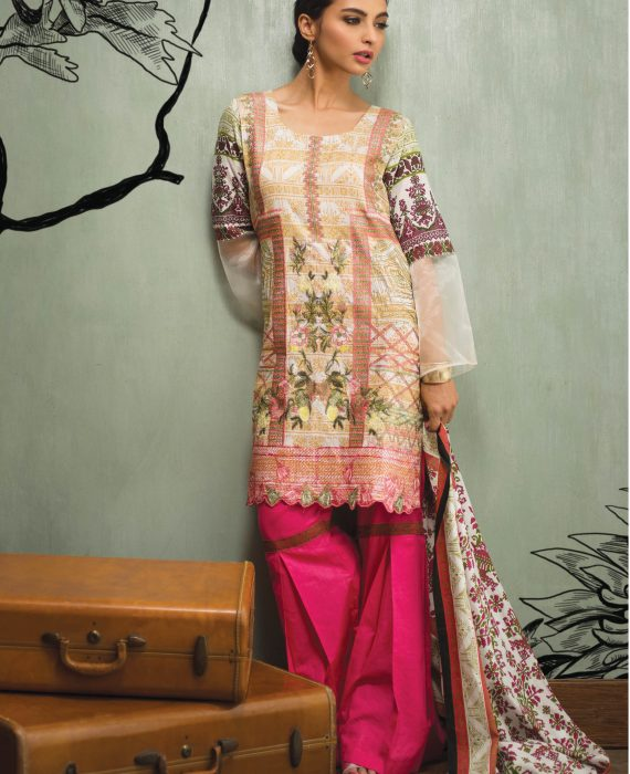 Libas Mid Summer Lawn Collection 2018 (6)