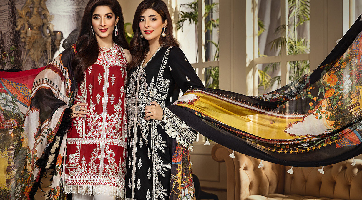 Anaya By Kiran Chaudhary Luxury Lawn 2020