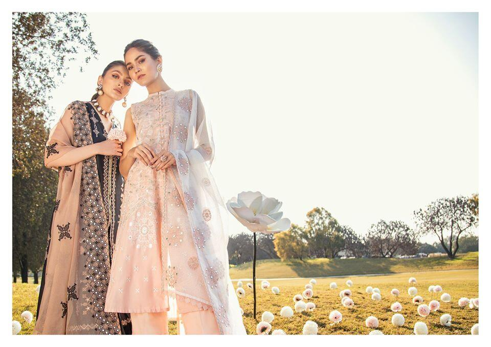 KohKaaf Premium Lawn Collection 2020 Cross Stitch
