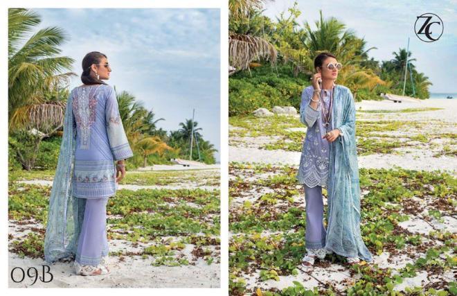 Zainab Chottani's Luxury Lawn/Chikankari 2020 Collection