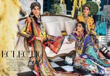 Zaha Fabulous 35 Lawn 2020 by Khadija Shah